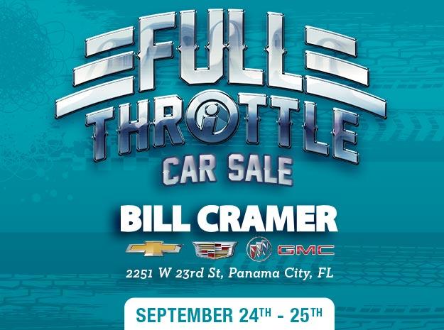 Full Throttle Car Sale