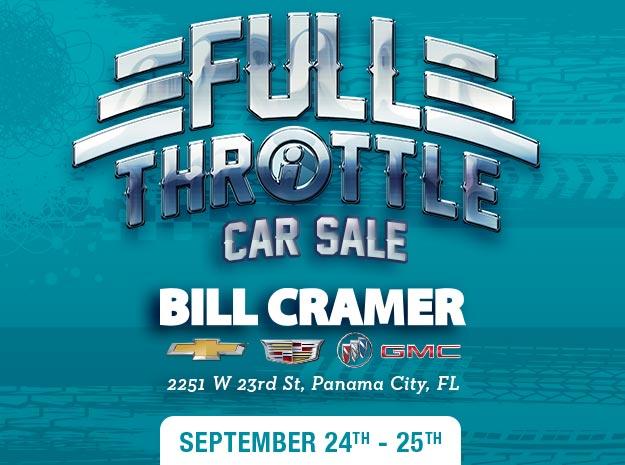 Full Throttle Car Sale - Bill Cramer